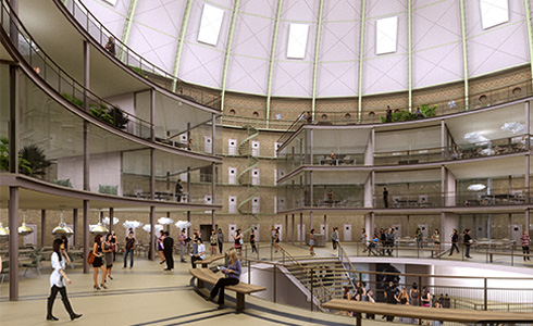 Koepel, urban design.